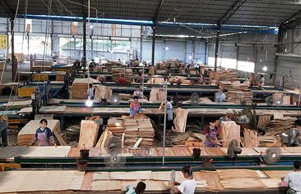 广西建筑模板生产流程