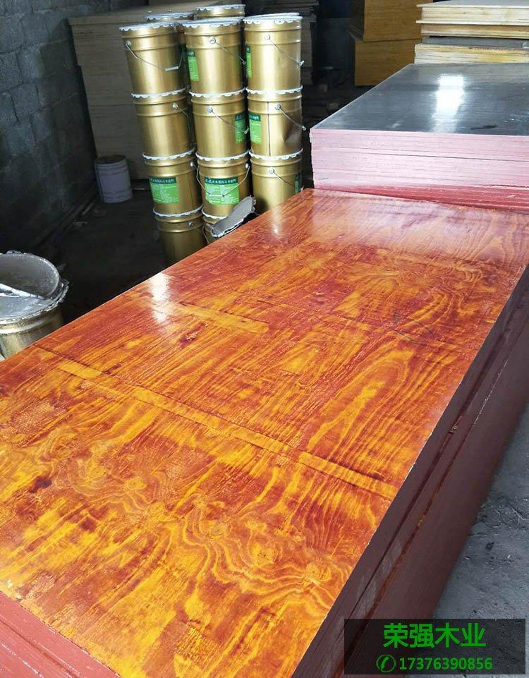 松木面皮建筑模板